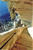 Escalier du roi d'Aragon - © Office de Tourisme de Bonifacio