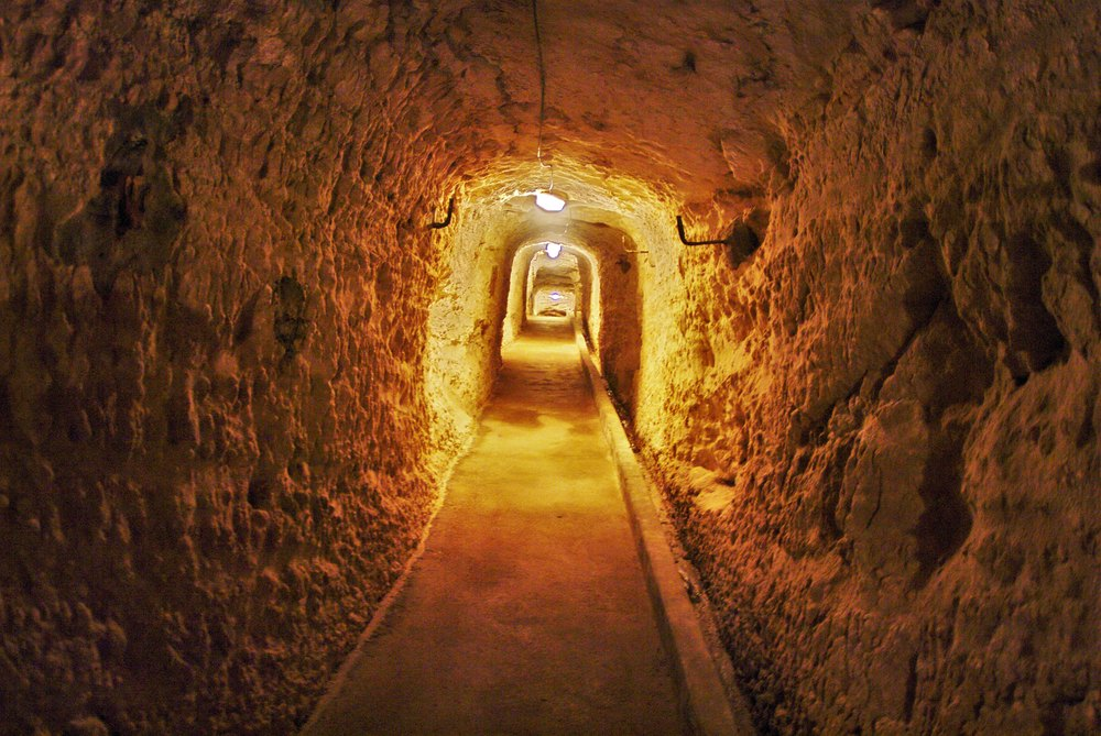 Tunnel d'accès au Gouvernail