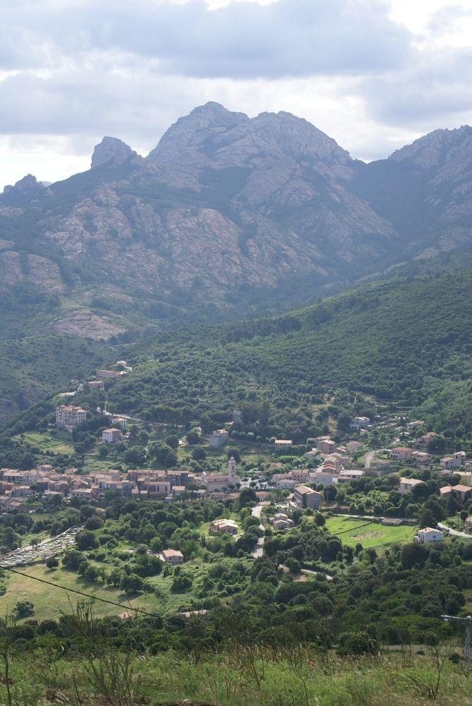 Piana, vu du belvédère de Saliccio