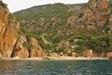 Plage de Ficaghjola, vue de la mer - © Kalysteo.com