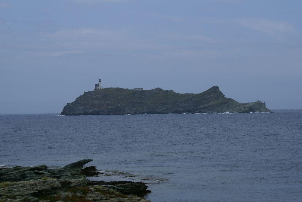 Île de la Giraglia, vue de Barcaggio