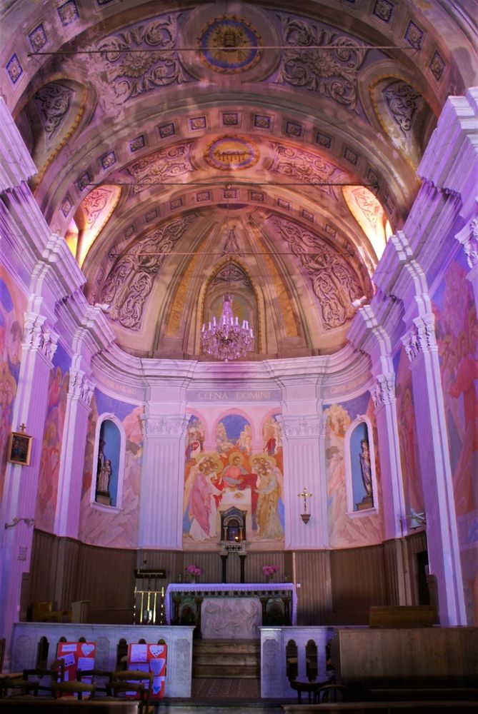 Intérieur de l'église de l'Assomption