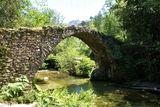 Pont génois de Zipitoli, au Sud-Ouest de Bastelica - © Kalysteo.com