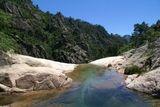 En haut de la première grande cascade de Purcaraccia - © Kalysteo.com