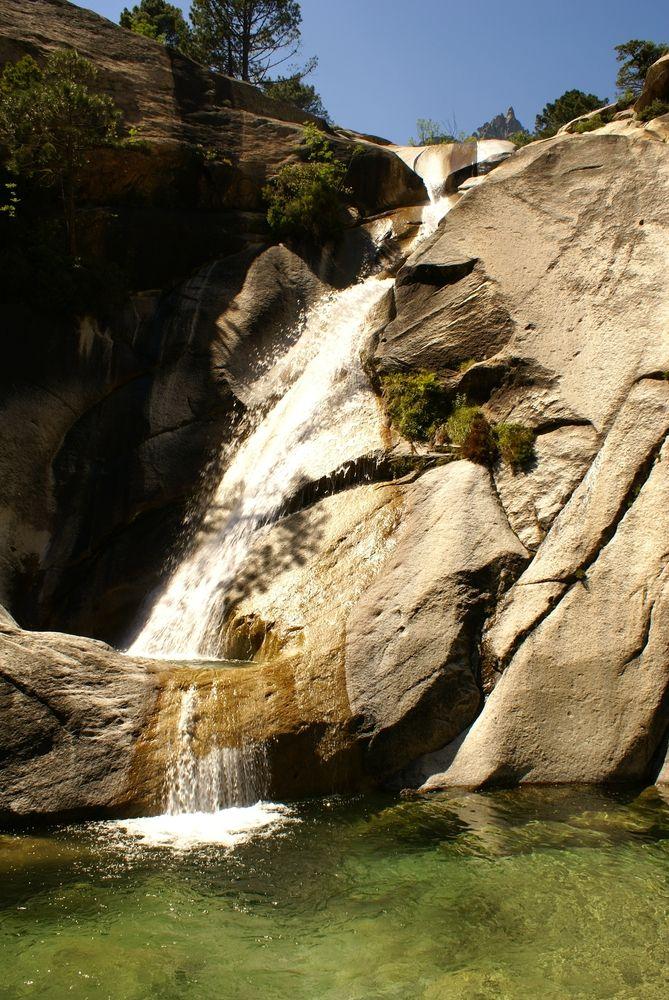 2ème grande cascade de Purcaraccia