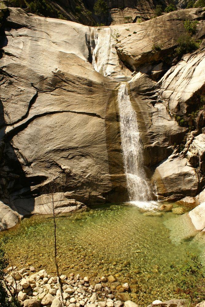1ère grande cascade de Purcaraccia