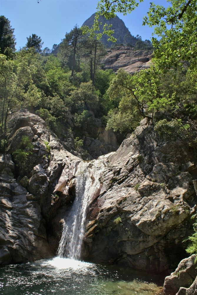 Petite cascade de Purcaraccia
