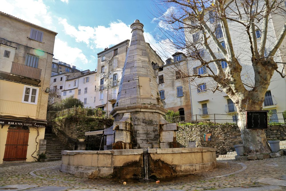 Fontaine aux Quatre-Canons