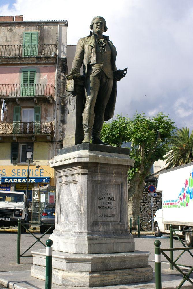 Statue de Pascal Paoli