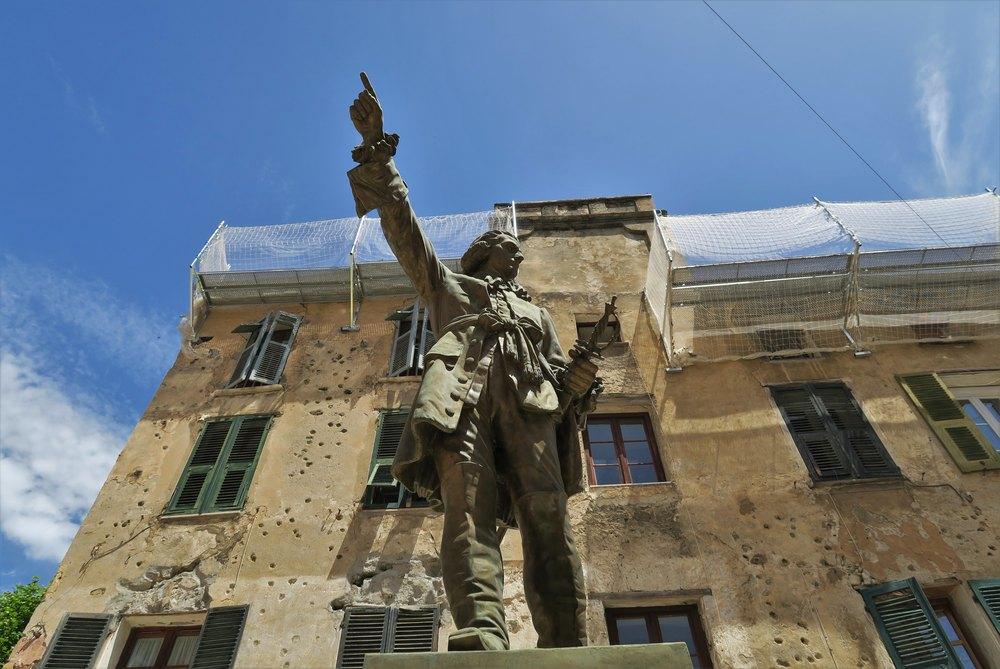 Statue de Jean-Pierre Gaffori