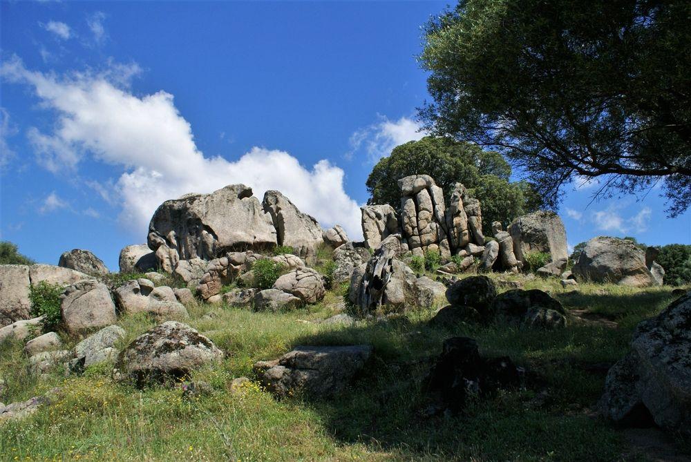 Carrière de granite
