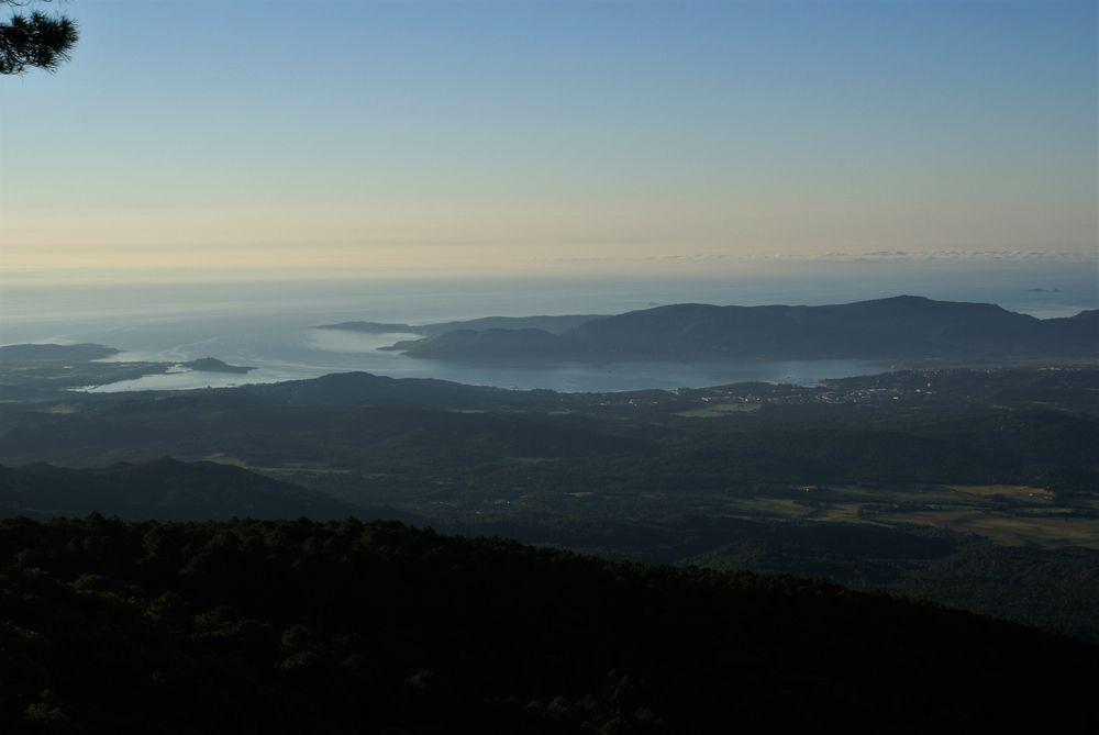 Le golfe de Porto-Vecchio, vu de l'Ospédale
