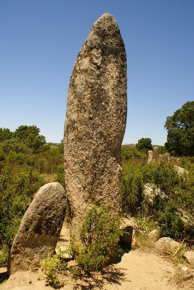 Menhir de Palaggiu