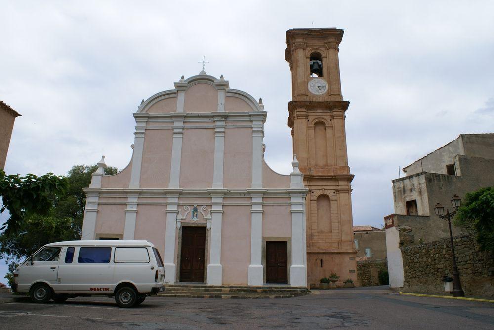 Église paroissiale Saint-Antoine-Abbé, à d'Aregno