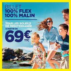 Billets Flex Corsica Ferries